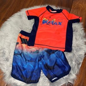 Tommy Bahama Swim Set Size 4T